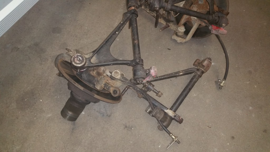 Front suspension need restoration