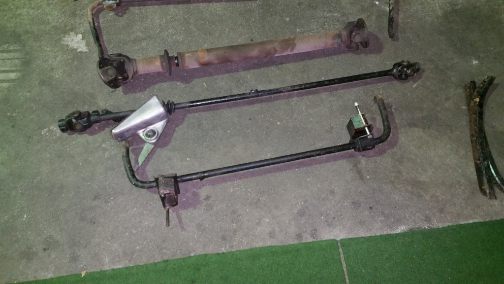 Sway bars to be restored completely